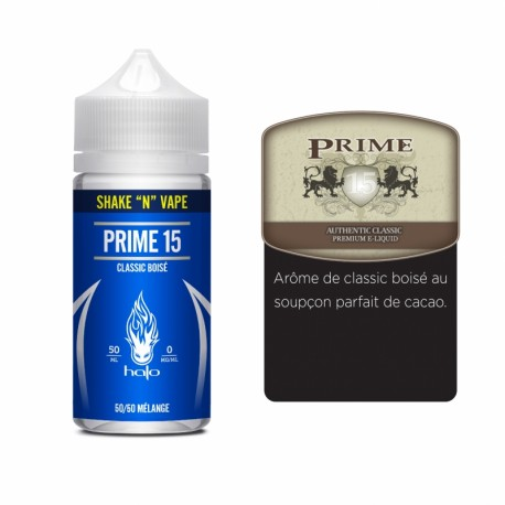 Halo Prime 15 50ml 50PG/50VG