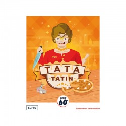 Tata Tatin 50ml 50PG/50VG - Le French Liquide