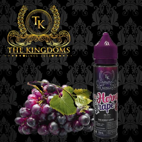 Horny Grapes 50 ml 40PG/60VG - The Kingdoms