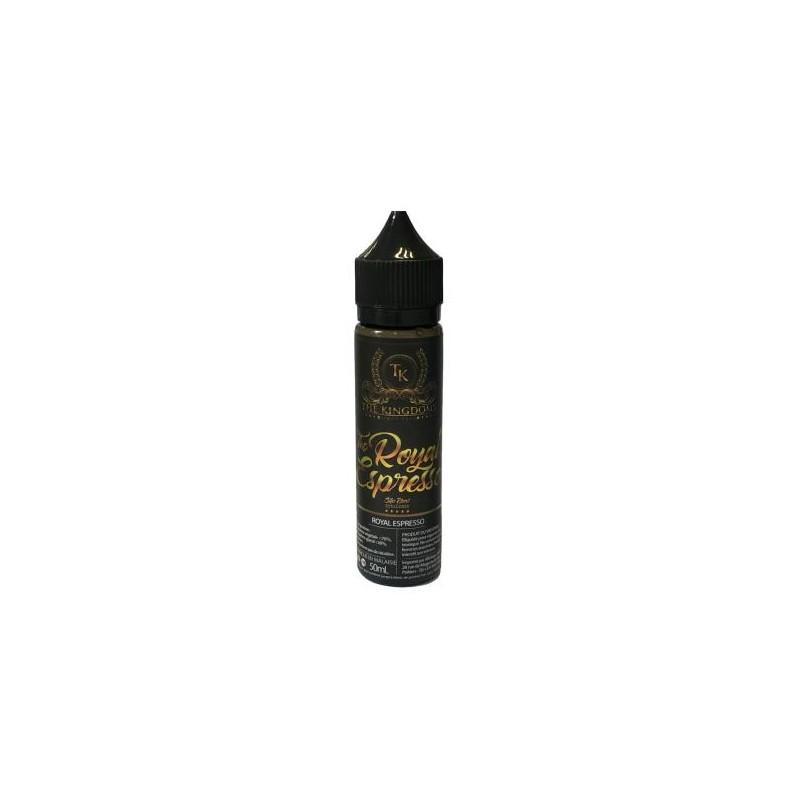 The Royal Espresso 50 ml 30PG/70VG - The Kingdoms