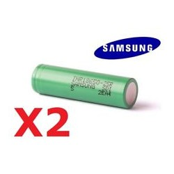 Accu Batterie MOD 18650 SAMSUNG INR 25R 2500 mah 35A