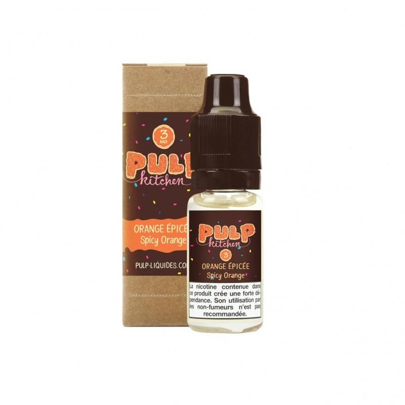 Pulp Orange épicée 10 ml