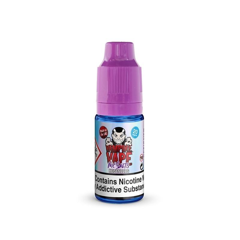 Heisenberg 10 ml Sels de nicotine - Vampire Vape