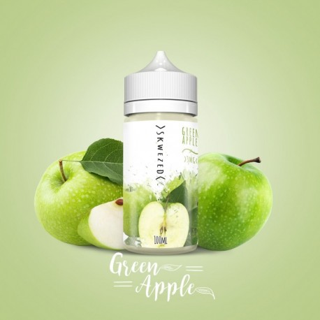 GREEN APPLE 100 ml - Skwezed