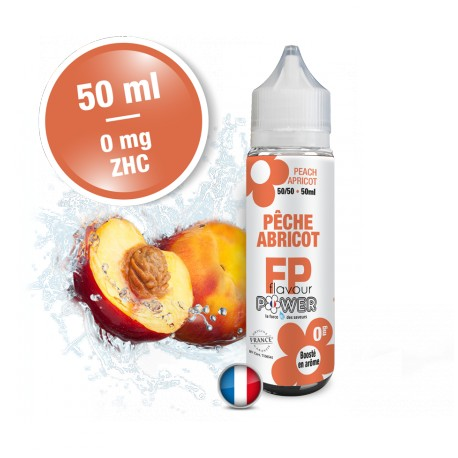 PÊCHE ABRICOT 50 ml - Flavour Power