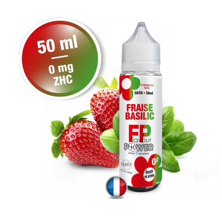 FRAISE BASILIC 50 ml - Flavour Power