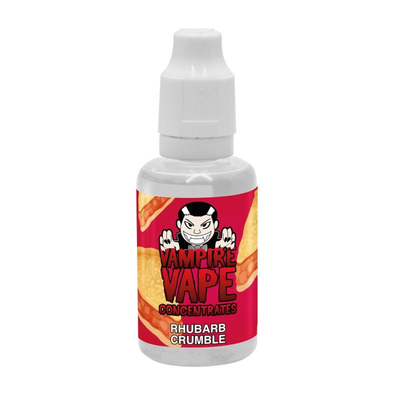Concentré RHUBARB CRUMBLE 30 ml Vampire Vape