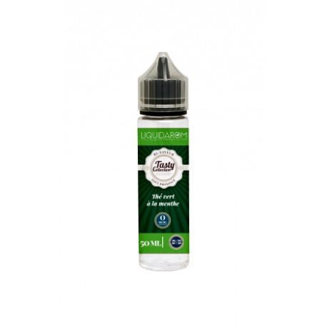 Thé vert à la Menthe 50 ml - Liquidarom