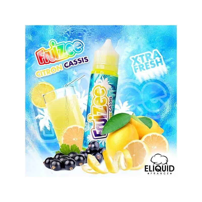 Citron Cassis 50 ml - Fruizee