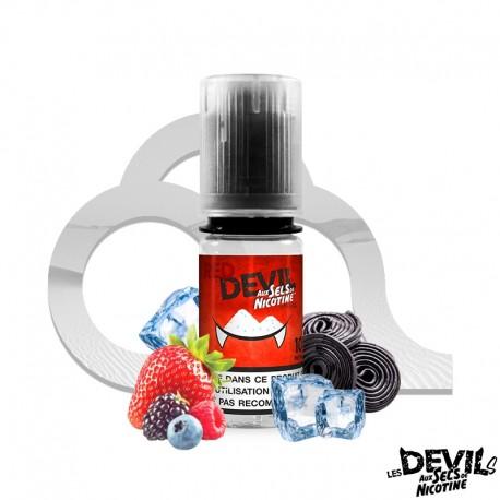 E-liquide Red Devil sels de nicotine 10 ml Avap