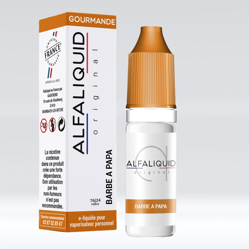 Alfaliquid Barbe à papa 10ml