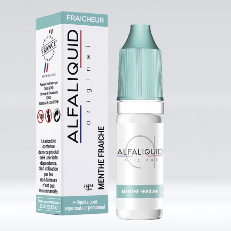 Alfaliquid Menthe Fraîche