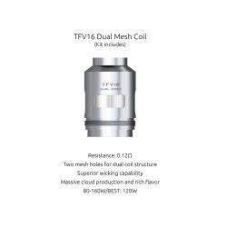 Résistances TFV16 - Smok