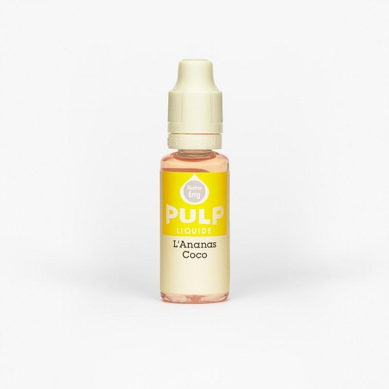 e-liquide Ananas-Coco 10ml PULP