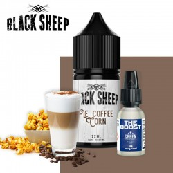 Le Coffee Corn 22ml booster black sheep