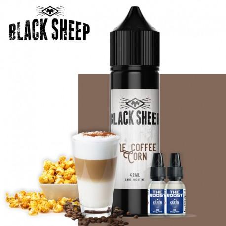Le Coffee Corn 42ml 2 boosters black sheep