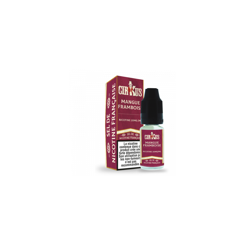 Mangue Framboise 10ml Sel de nicotine VDLV