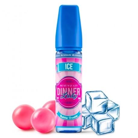 Bubble Trouble Ice 50ml sans sucralose dinner lady