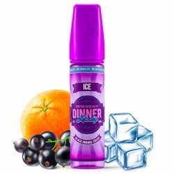 Black orange crush ice 50ml 0% sucralose dinner lady