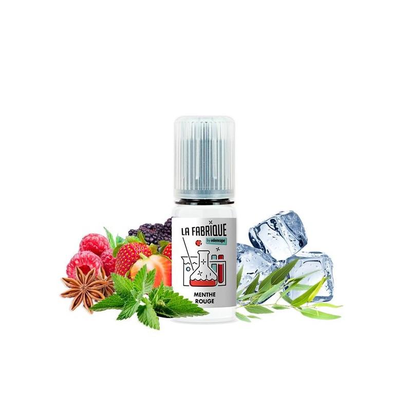 Arome concentré menthe rouge 10ml la fabrique edenvape