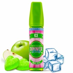Apple sours ice 50ml 0% sucralose dinner lady