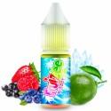 Bloody Lime 10ml Fruizee Xtra Fresh  Eliquid France gout fruits rouges, citron vert et frais