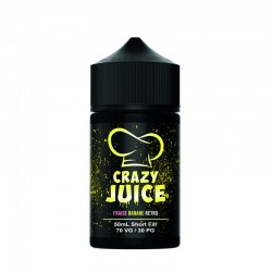 Pastèque Litchi 50ml Crazy Juice Mukk Mukk + Boosters Offerts