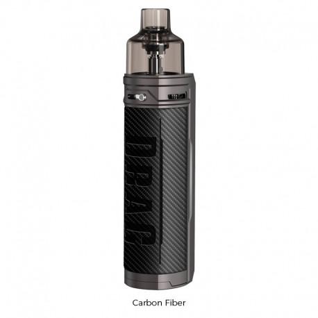 Kit Drag X Pod - VOOPOO Fibre de carbonne