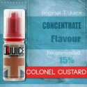 T-juice concentré Colonel Custard
